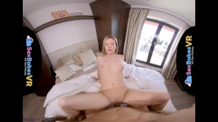 SexBabesVR – Sexy Shower Surprise with Angel Piaff