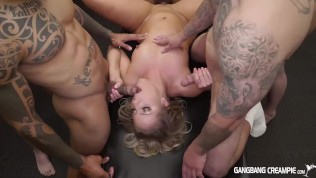 CANDICE DARE GETS FUCKED BY THE COCKSMEN