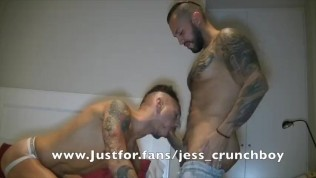 Viktor rom fuck b areback a muscle bottom