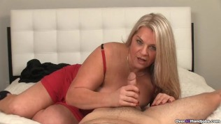Cum-hungry Milfs Got A Throbbing Dick In Her Hands