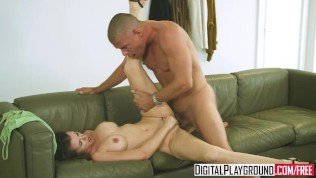 Digital Playground-Mick Blue Wins Over Cute Shy Teen Raven Alexis And Fucks Her PornZek.Com