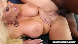 Big Black Cock Rome Major Plows Blonde Milf Alura Jenson!