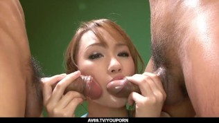 Sexy Luna amazing porn with two men while naked – More at 69avs.com