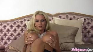 Twistys-Busty Blonde Blake Rose Rubs Her Tight Pussy PornZek.Com