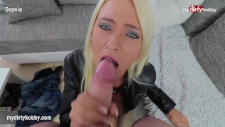 Mydirtyhobby-Busty Blonde Teen Will Do Anything For A Ride Home! PornZek.Com