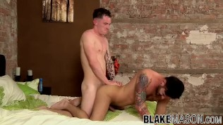 Handsome guy craves for hardcore anal pounding from a friend
