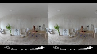 Compilation of gorgeous solo girls teasing in HD Virtual Reality video