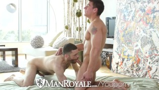 ManRoyale Trainer Hunk Fucked By Trainee