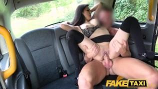 Fake Taxi Hot Japanese petite babe Rae Lil Black shows deepthroat skills