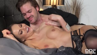 Insatiable Brunette Bombshell Tina Kay Can't Stop Cumming In Doggy Style PornZek.Com