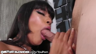 OnlyTeenBlowjobs My Step Sister Is A Busty Asian Latina Teen!!