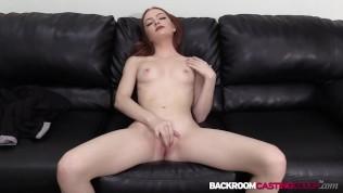 Petite Redhead Auditions For Facial After Big Cock Cowgirl PornZek.Com