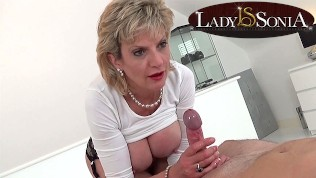 Erotic Massage And Handjob From Lady Sonia PornZek.Com