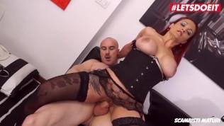 LETSDOEIT - Kinky RedHead Mom Ass Fucked By Her Lover