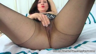 British Milf Kitty Cream's Cunny Is Lubed Up And Ready PornZek.Com