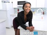 PropertySex - Sexy female property manager fucks pissed off tenant