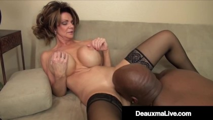 Cougar Boss Deauxma Fucked By Big Black Cock Employee