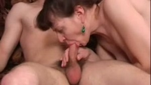 Russian horny mature gets fucked (part 1)