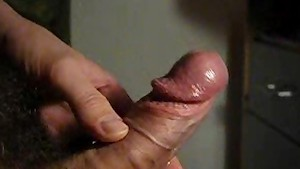 Massive Orgasm - Hard cock shoots 12 times!