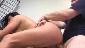 Big titted woman takes on two cocks - Pt. 4/4