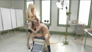 TS vixen Jessy plays with Bi-curious guy