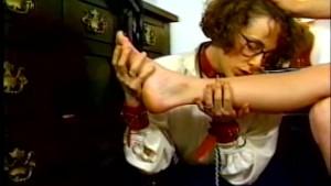 Humiliating foot licking!