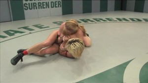 Vendetta celebrates her wrestling victory with sex