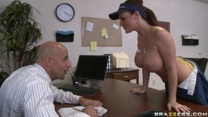 Sophie Dee - Let the tits do the cleaning