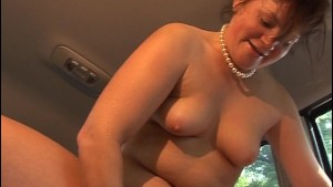 Cum in the car and get the ride of your life [CLIP]