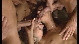 Three loads divided by two blondes equals HOT