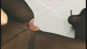 Nylon fetish strip