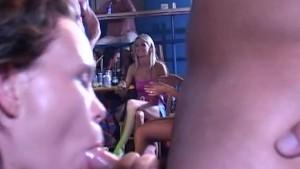 Cock sucking women on a wild hen party