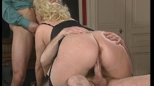 Blondie with huge knockers - DBM Video