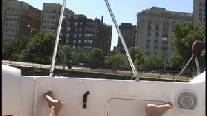 BOATING BJ – NAKED IN PUBLIC NIP CUM SWALLOWING