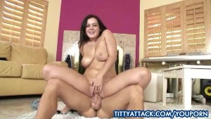 Natasha Nice gets her big titties into action