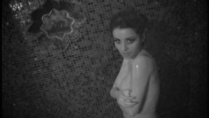 Bold and beautiful women in shower
