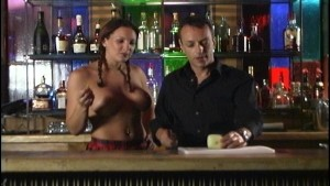 With topless barmaid who cares what's in the drink