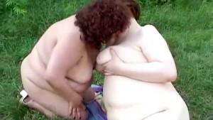Lovely fat lesbians fucking