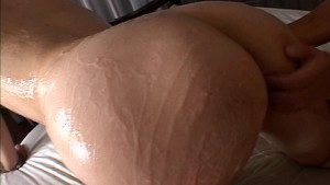 Cuffed, Oiled and Fucked - Pompie