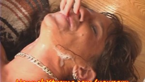 MILF gets FACIAL, ANAL and then SQUIRTS
