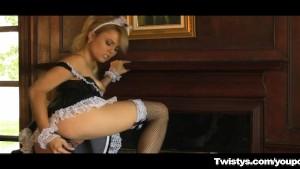 Hot Maid caught Masturbating