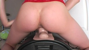 Sophie and her Sybian alone at last