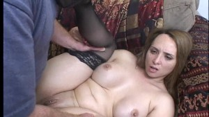 Oversexed housewife is ready for more