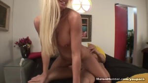 Big Titty Blonde Riding Huge Dick