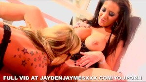 Jayden Jaymes and Tyler Faith Get Erotic