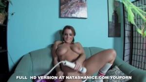 Natasha Nice is naughty on Halloween