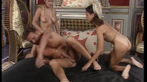 Both hotties can t get enough of one big cock