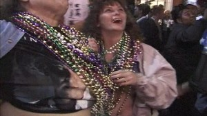 Showin boobies in New Orleans