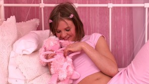 She Loves Playing With Here Pink Pussy
