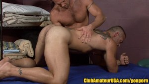 Muscle Hunk's Prostate Massage